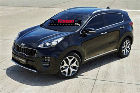 Kia Sportage Photo All New 2016 Kia Sportage Revealed In Leaked Images