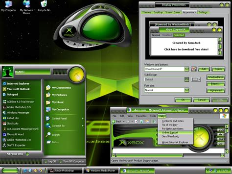 xbox xtremexp theme for windows xp 187 tutorial tips wincustomize explore windowblinds xbox xtremexp