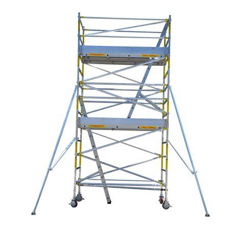 aluminium mobile scaffolding easyscaf 4 0m aluminium mobile scaffold width 2