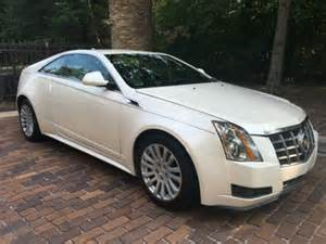 White Cadillac Cts Coupe 2012 Cadillac Cts Coupe Pearl White For Sale On