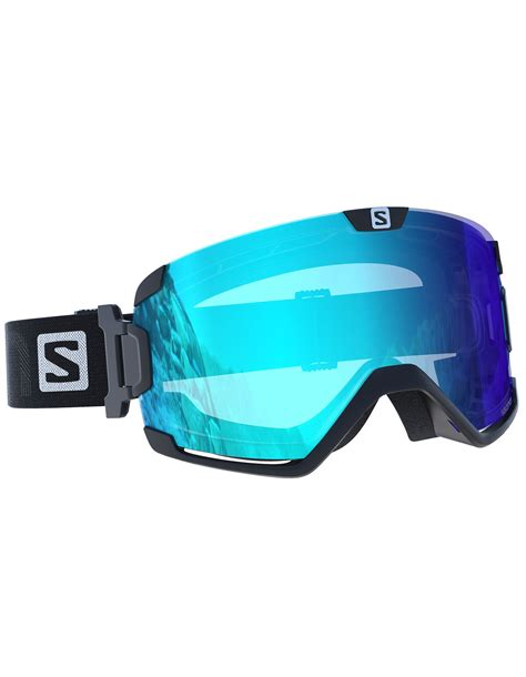light blue l cosmic blk lo light l blue salomon masques de ski