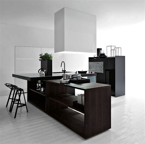 Modern Kitchen Designs 2012 Best Black And White Modern Kitchen 2012 Interior Design Ideas
