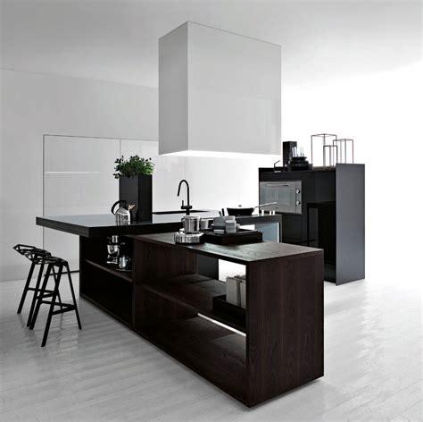 Modern Black And White Kitchen Designs Best Black And White Modern Kitchen 2012 Interior Design Ideas
