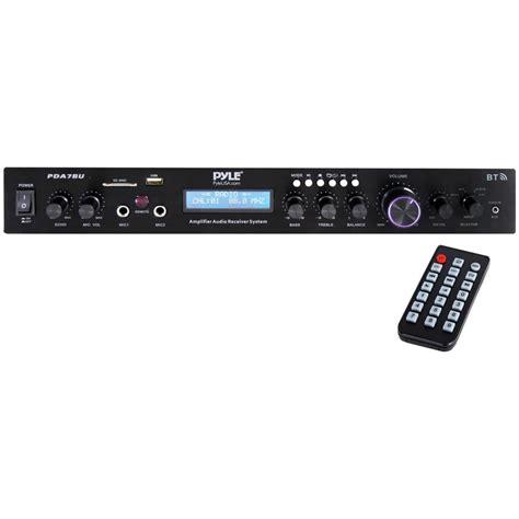 pyle  watt home theater amplifier audio receiver sound