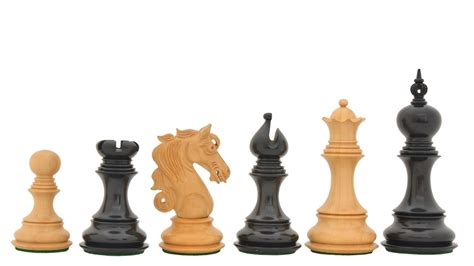 staunton chess pieces buy luxury staunton chess set in ebony box wood online
