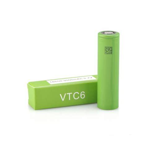 Battery 18650 Sony Vtc6 sony vtc6 18650 3000mah 15a flat top battery