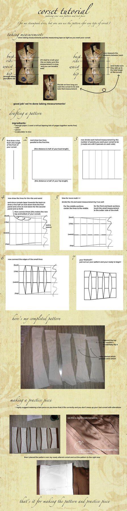 pattern drafting tutorial corset pattern drafting tutorial by kellaxproductions on