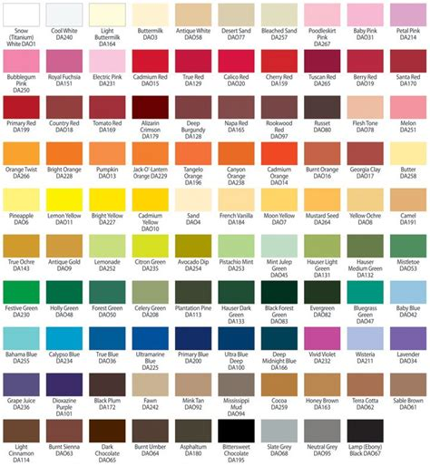 americana acrylic paint color chart jpg color mixing color mixing