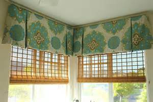 Box Valances For Windows Learn How To Sew Valances In Sewing Custom Valances A
