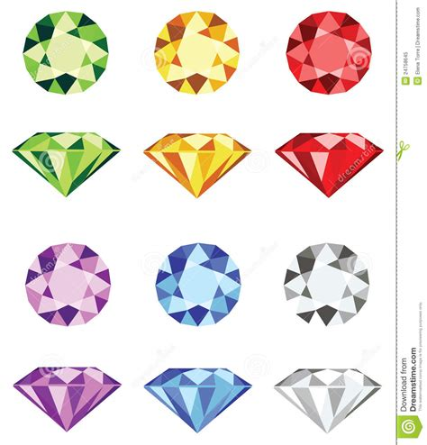 home design free gems gemstones diamond cut vector royalty free stock photo