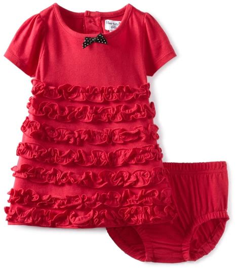 Dress Baby Import 3 hartstrings infant ruffled dress cover set
