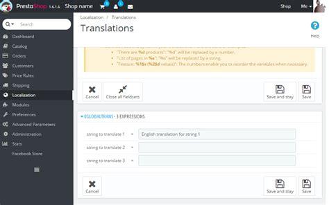 What Does Back Office by Global Translations In Prestashop Jordisan Net