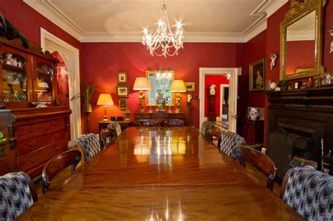victorian gothic traditional dining room south east