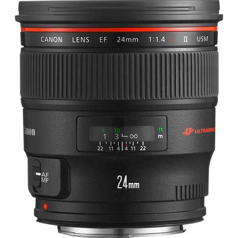 Canon Lensa Ef 24mm F 1 4 L Ii Usm canon ef 24mm f 1 4l ii usm lens in groothoeklenzen