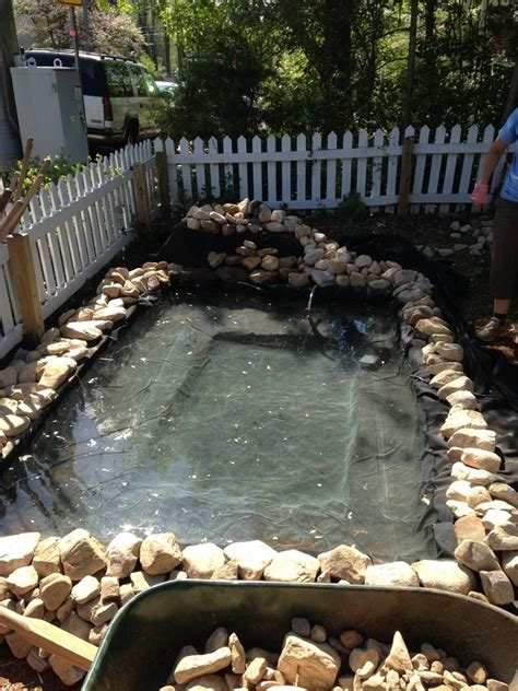 how to make a pond in your backyard had a boring front yard the way he made a pond out of