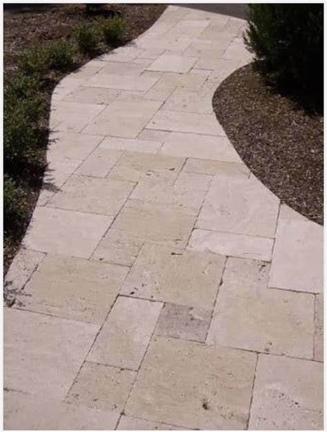 Travertine Patio Pavers Travertine Outdoor Pavers Floor Wall Tiles Pool Coping Bathroom Kitchen Tiles View The