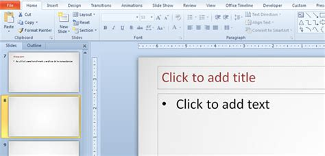 How To Change Default Font Color In A Powerpoint Presentation Template Powerpoint Template Font Size