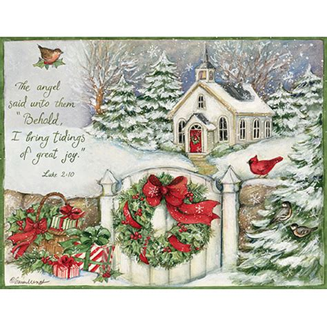 Lang Cards And Gifts - lang quot gifts of christmas quot boxed christmas cards walmart com