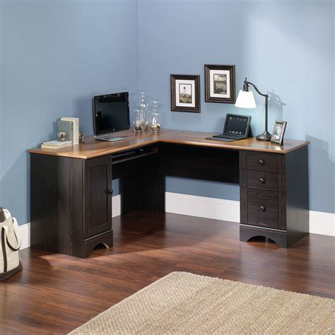 white corner desk walmart southern enterprises corner computer desk in