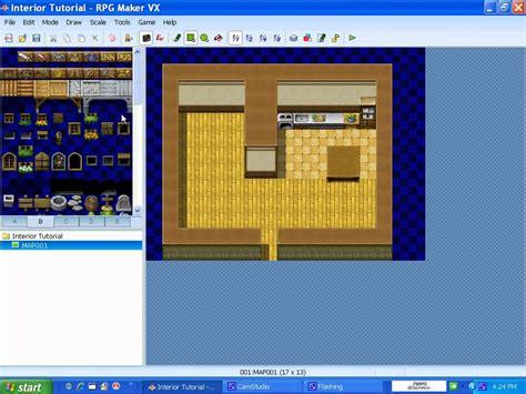 interior creator rpg maker vx mapping tutorial interior