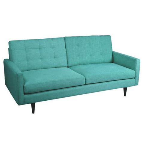 teal sofa ethan marled chenille teal sofa
