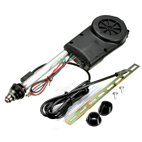 universal car am fm automatic electric power radio antenna conversion unit alexnld