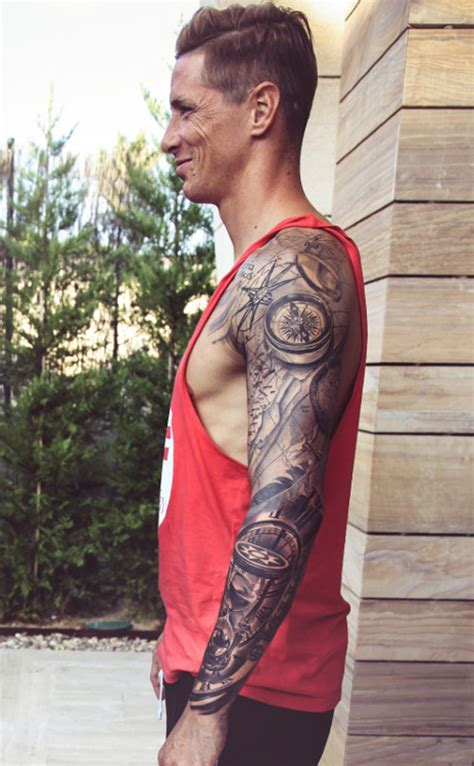 torres tattoo fernando torres football