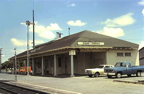 suisun fairfield southern pacific depot july 1974