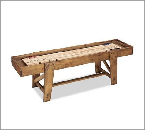 shuffleboard table plans woodworking projects