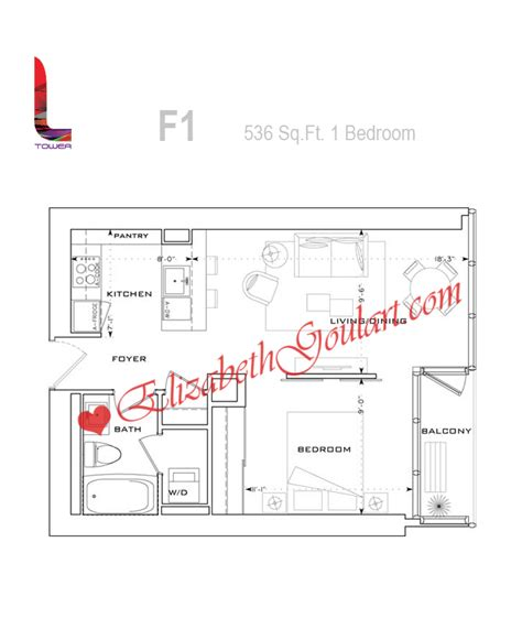 l tower floor plans 8 the esplanade l tower condos toronto floor plans