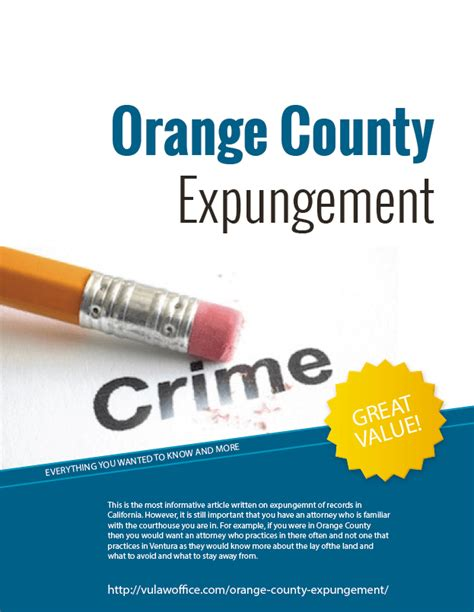How Before Your Criminal Record Cleared Free Ebook Clearing Your Record With An Expungement Orange County Dui Attorney