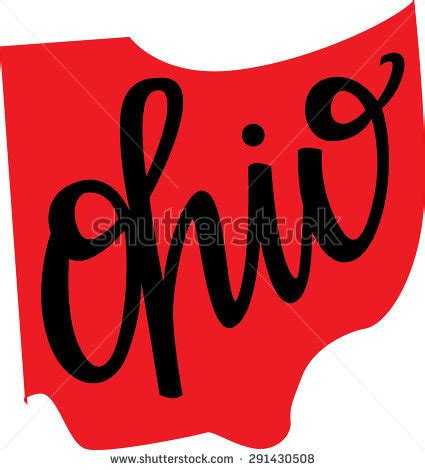 Ohio State Logo Outline by Stock Images Royalty Free Images Vectors