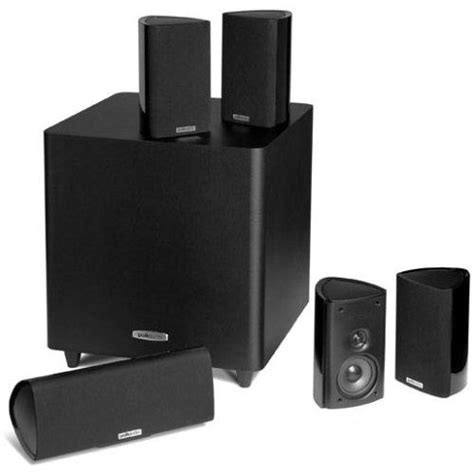 polk audio rm705 5 1 home theater system electronics