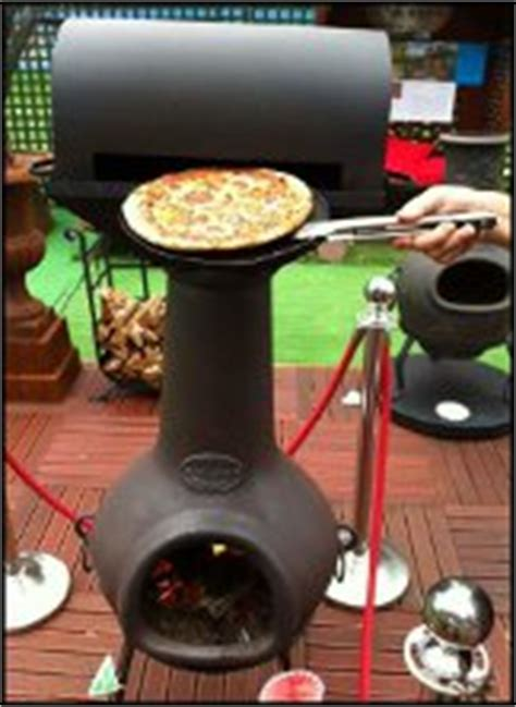 bbq pizza oven attachment - Chiminea Pizza Oven Attachment