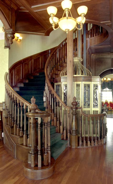 banister post tops how your stair handrail determines the look of your staircase
