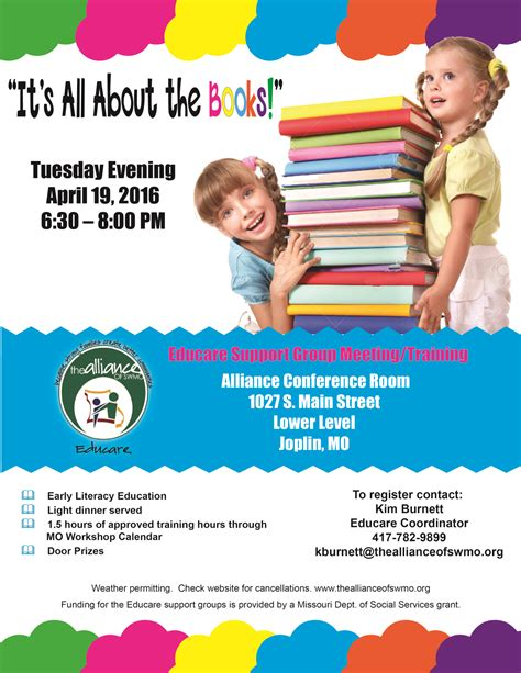support groups for children books educare support meeting it s all about