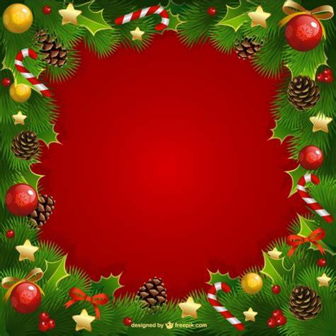 cornici natalizie gratis cornice di natale con vischio scaricare vettori gratis