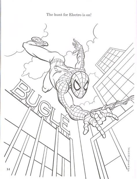 amazing spider man coloring page coloring home