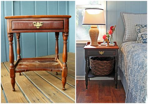 shabby chic bedside table images beach cottage style on budget beach cottage shabby chic nightstand before
