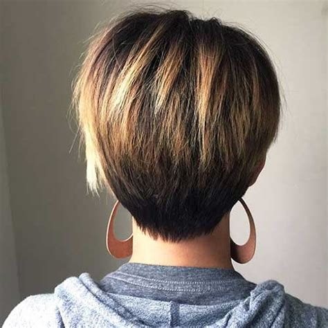 long layered pixie back front chic long pixie haircut pictures short hairstyles 2017