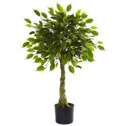Home gt artificial florals gt gt 3 ficus tree uv resistant indoor