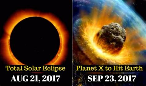 Or 2017 Ending Is 21st August 2017 Solar Eclipse Indication Of End Of World 5 Times Apocalypse Predictions