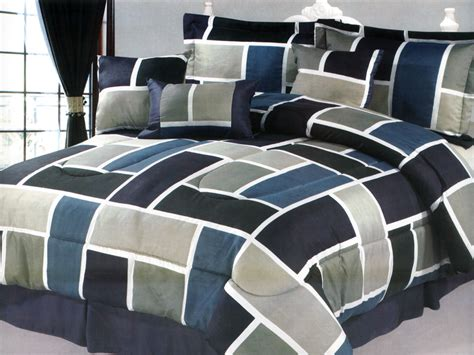 navy and teal bedding 7 pc rectangle square contemporary comforter set navy sage