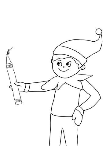 boy elf on the shelf coloring pages boy elf on the shelf coloring pages color bros