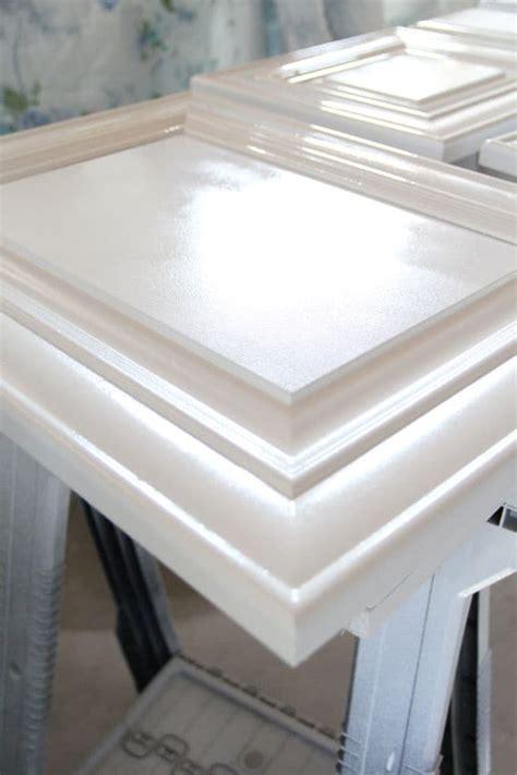 spray paint cabinets   pros bright green door