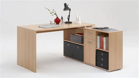 Schreibtisch Winkelkombination by Schreibtisch Lexx Winkelkombination Tisch B 252 Rotisch Buche