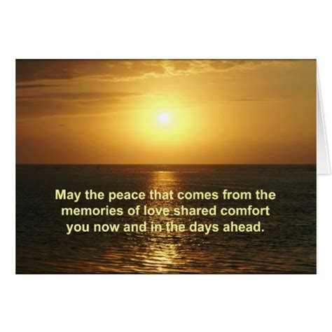 thank you for comforting words sympathy card with inspirational text zazzle