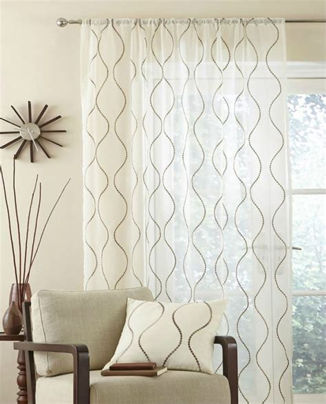 embroidered voile curtains uk single madison contemporary embroidered voile net curtain