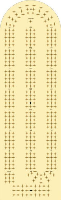 cribbage board template images cribbage board