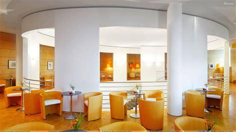 orange interior orange and white interior in resturant wallpaper